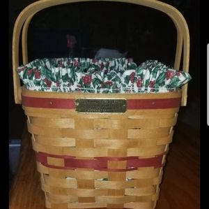 Longaberger Christmas Collection Edition Basket